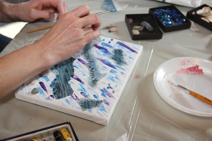 Kunst leicht gemacht: Collagen